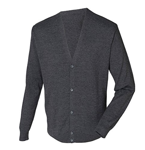 Workwear World - Gilet - Homme gris chiné