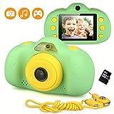 LordFord Kids Camera Mini Rechargeable Digital Camera 8MP Children Anti-Drop Shockproof Design 2.4Inch