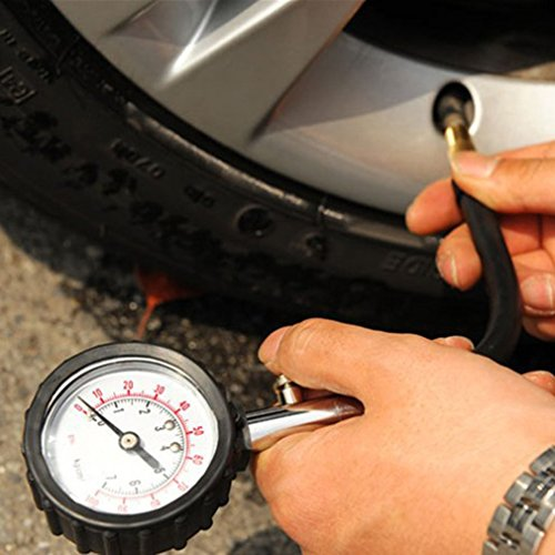 Ulable-veicolo-camion-auto-pneumatico-Air-pressure-gauge-0--psi-quadrante-tester-Meter
