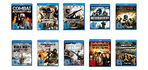 Preisvergleich Produktbild Kriegsfilm - Blu-ray Bundle