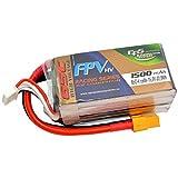 E PROPULSION SYSTEMS EPS - Batterie Lipo 15,2V (4S) 1500 mAh 65C TOP RACING SERIES...