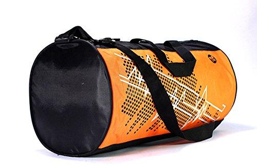 3G 900Cms Softsided Nylon Orange Gym Duffle Bag  available at amazon for Rs.225