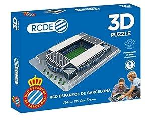 Eleven Force- Puzzle EST 3D Rcde Stadium (RCD Espanyol) (63478),, Ninguna (1)