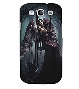 SAMSUNG GALAXY S3 DEVIL GIRL Designer Back Cover Case By PRINTSWAG
