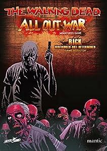 2 Tomatoes Games-5060469660929-0 Booster Rick, desfigurado Pero Determinado - The Walking Dead: All out War (Oleada 4), Multicolor (5060469660929)