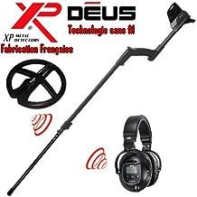 XP Metal Detectors Detector de metales Deus Light2 tecnología inalámbrica Auricu