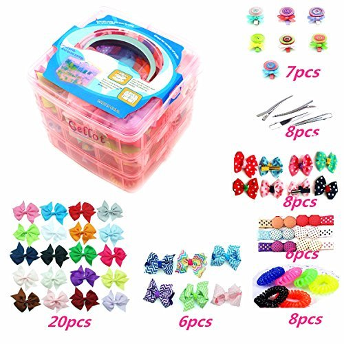 3 Layer Girls Hair Accessories G...