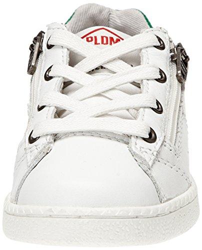 PLDM by Palladium Malo Cash, Baskets mode mixte enfant Blanc (054 White/Green)