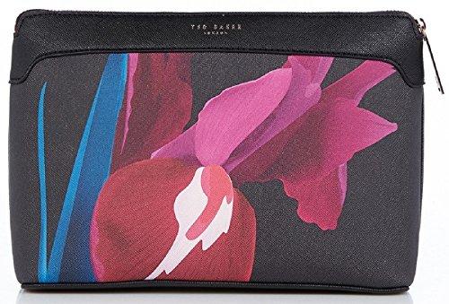 Ted-Baker-Bimbill-Stencilled-Stem-Kulturtasche-schwarz-schwarz