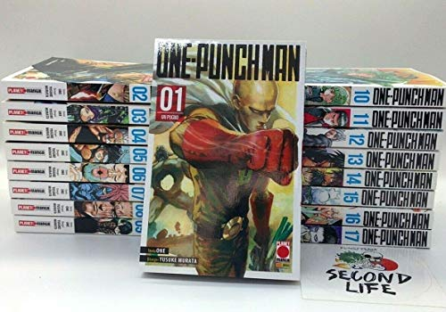 One-Punch Man serie completa da 1 a 17 - Tutti i volumi nuovi ITA - Planet Manga