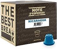 Note d'Espresso Nicaragua Coffee Capsules exclusively Nespresso* machine Compatible 5.6g x 100 Capsules