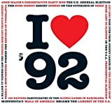 1992 Birthday Gift - 1992 I Heart CD and Greeting Card