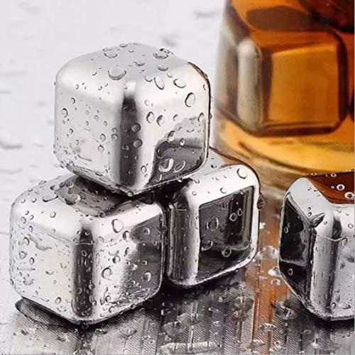 htrdjhrjy Grauer Edelstahl Whiskey Steine S Speckstein Gletscher Kühler Stein Getränk für Zuhause Dekoration - Farben -