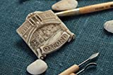 Iman de nevera artesanal elemento decorativo regalo original pintado Oxford