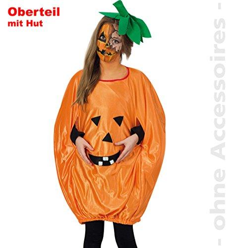 Halloween Kürbis Kinder Kostüm Party Gr. 152-164 ()
