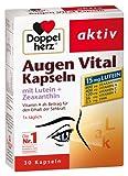 Doppelherz Augen Vital Kapseln, 2er Pack (2 x 30 Kapseln)