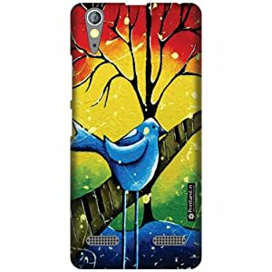 Printland Designer Back Cover for Lenovo A6000 Plus - Mixed Colors Case Cover