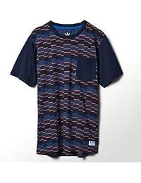 adidas Gonz Striped Skateboarding T Shirt
