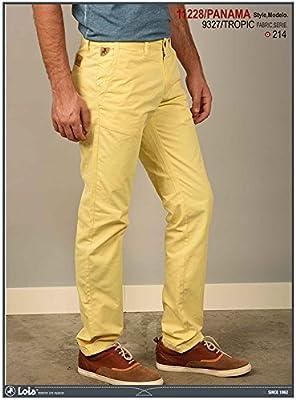 LOIS - Panama Tropic, Hombre, Color Amarillo, Talla 34