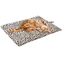 SCENEREAL CO. Selbstwärmende Haustierdecke für Katzen und Hunde, 51 x 71 cm