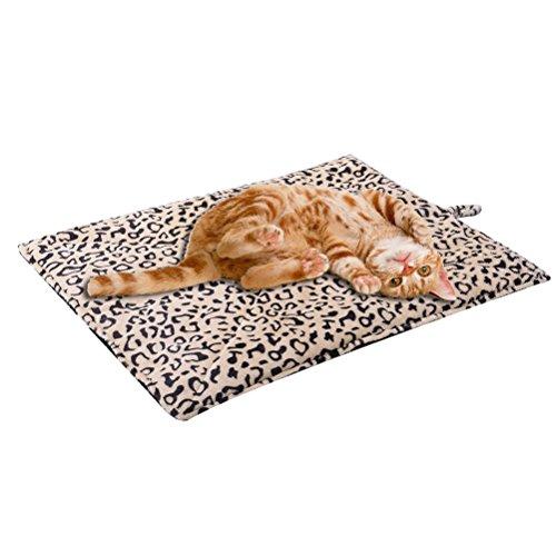 SCENEREAL CO. autoriscaldante coperte cuscino ideale per cani gatti 51x 71cm materassino letto