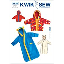 Kwik Sew, Cartamodello per sacco nanna e giacca bambini, XS-S-M-L-XL