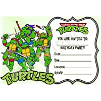 Amazoncouk Teenage Mutant Ninja Turtles Invitations Party