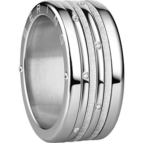 Bering Damen-Ringe Edelstahl mit Ringgröße 63 (20.1) Yokohama 10