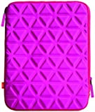 iLuv Foam-Padded Neoprene Case/Sleeve for iPad 3/iPad /iPad 1 and all Generic 10 inch Tablets - Pink