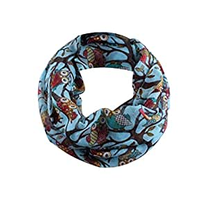 Neck warmers unisex voile scarves for women hirolan for Christmas ornament sale clearance