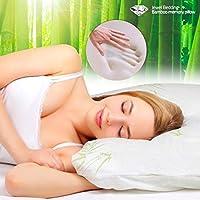 Bamboo Jewel Bedding Memory Foam Pillow by euroshop.co