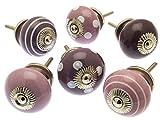 Mix-Set von 6Forest Fruits violett, flieder und Pflaume Knöpfe (mg-226)–'Mango Baum' TM eingetragenes Produkt