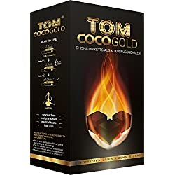 Tom cococha - Jaune 3 KG Charbon De Noix De Coco