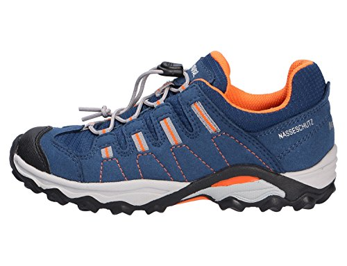 Meindl Acri, Chaussures de ville à lacets pour garçon Bleu ...