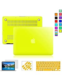 """Go Crazzy Macbook Air 13"""" 13.3 Inch Macbook Air Hard Case, 5 In 1 Rubberized Matte Finish Plastic Case With Keyboard..."""