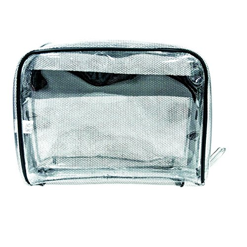 City Lights Clear Deluxe Multi-Compartment Tote Bag by City Lights