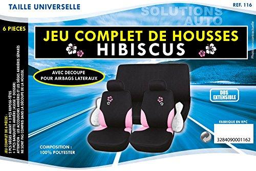 IMDIFA 116 Housse de Siège Hibiscus Airbag 100 pourcent Polyester, 6 Pièces Acheter en ligne