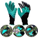 GG Mall (2par) jardín Genie guantes con garras de excavación en la mano derecha, totalmente impermeable, comodidad diseño Flexible