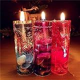 Creative Ocean Kerze, mamum 1pc Aromatherapie Rauchfreie Kerzen Ocean Muscheln Valentines Duftkerze JELLY,