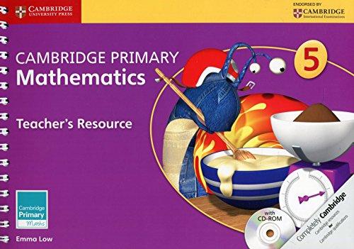 Cambridge Primary Mathematics. Teacher's Resource Book 5. Con CD-ROM (Cambridge Primary Maths)