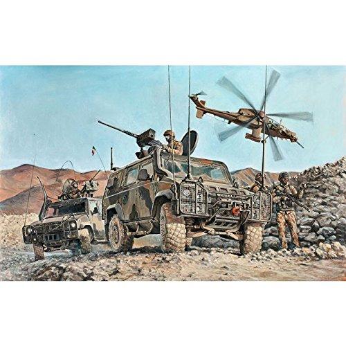 Italeri Kit Mezzo Militare Vtlm Lince 6504S Scala 1:35