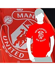 World of Football T-Shirt Sons of Manchester red devils rot - XXL