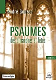 Livret de Partitions - Psaumes Annee C