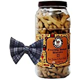 Douge Couture Combo Pack Of Chicken & Peanut Butter Biscuit - 1Kg & Dog Tie