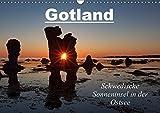 Gotland - Sonneninsel in der Ostsee (Wandkalender 2019 DIN A3 quer): Insel Gotland - die Perle Schwedens (Monatskalender, 14 Seiten ) (CALVENDO Orte)