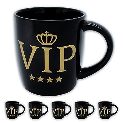 6x Edler Kaffeebecher