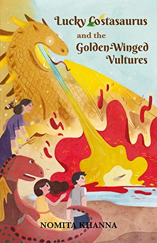 LUCKY COSTASAURUS and the Golden-Winged Vultures book cover
