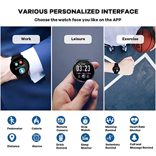 Zoom IMG-3 canmixs cm10 smart watch ip67