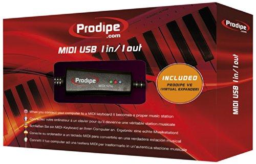 PRODIPE P6-5 - INTERFAZ MIDI USB 1 IN/1 OUT