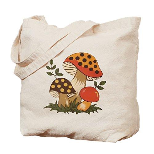 CafePress–Merry Pilz–Leinwand Natur Tasche, Reinigungstuch Einkaufstasche M khaki (Corelle Corningware)